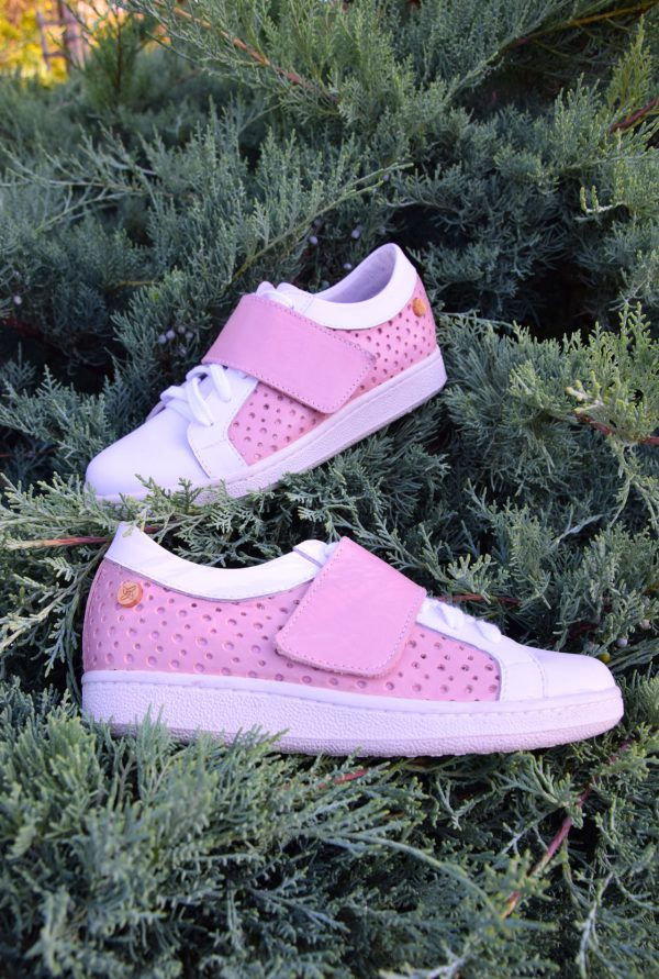 Girly Pink Sneakers by Small Shoes by Cristina Correia