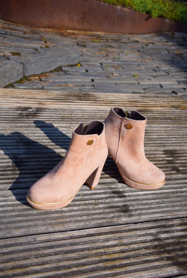 Nobuck Ankle Boots by Small Shoes by Cristina Correia