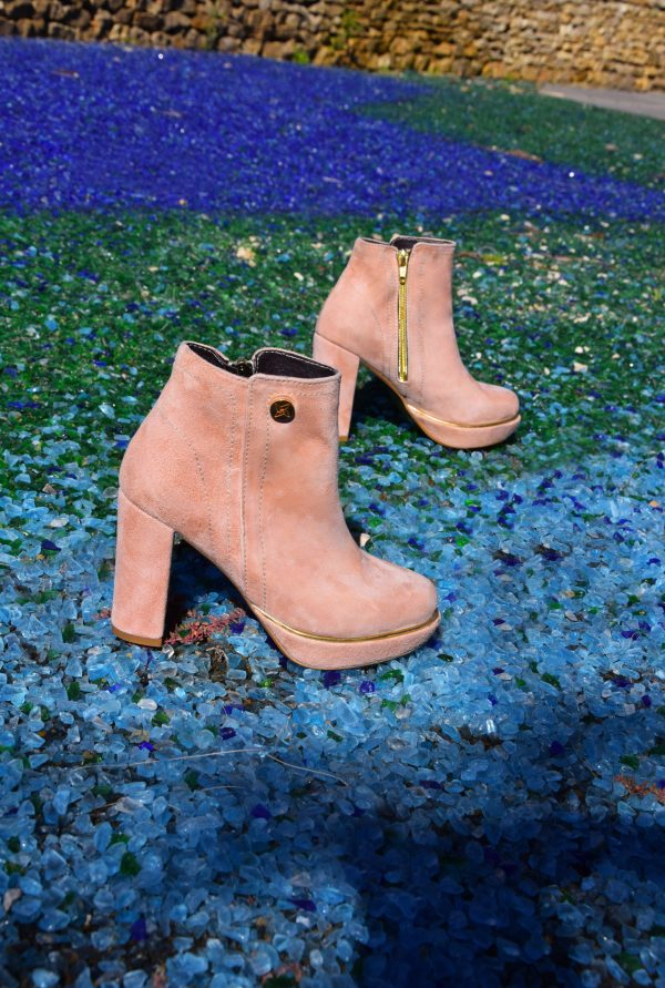 Small Size Nude Booties