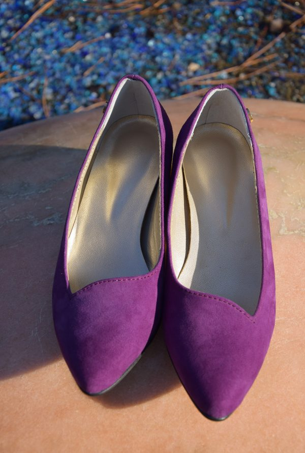 Violet Goat Suede for Petite Women
