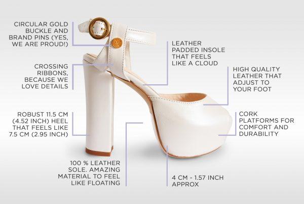 Petite Bridal Shoes