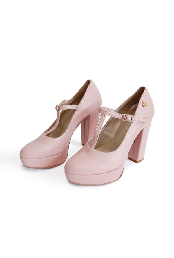 Soft Pink High Heel Shoes for Petites