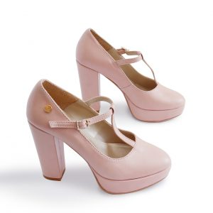 Nude heels pair for Women
