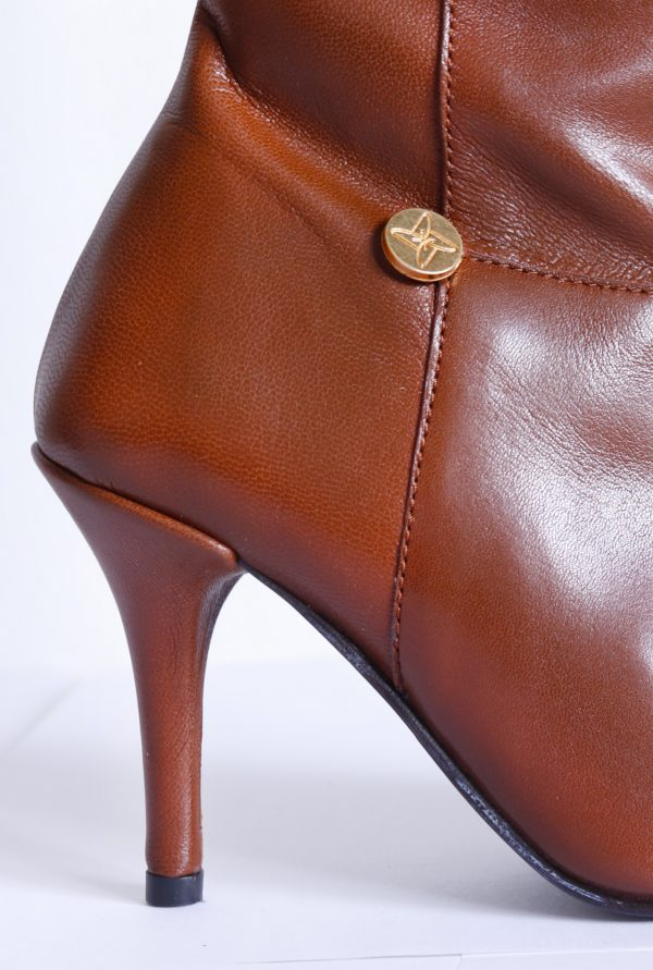 Stiletto Heel and Brand Pin