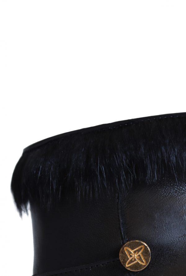 Black Rabbit Fur